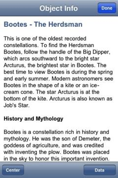Info on Bootes