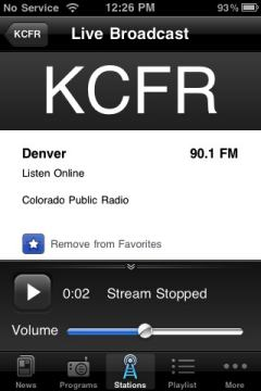 NPR KCFR