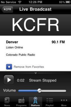 NPR KCFR